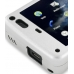 Nokia N900 Aluminum Metal Case (Silver) top quality leather case by PDair