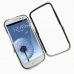 Samsung Galaxy S3 Aluminum Metal Case (Silver) custom degsined carrying case by PDair