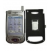 Samsung SPH-i700 with Extended Battery Aluminum Metal Case (Silver) genuine leather case by PDair