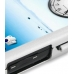 Samsung i7500 Galaxy Aluminum Metal Case (Silver) top quality leather case by PDair