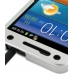 Samsung Galaxy S2 Epic Aluminum Metal Case (Silver) handmade leather case by PDair