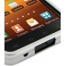 Samsung Galaxy S2 Epic Aluminum Metal Case (Silver) genuine leather case by PDair