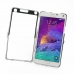 Samsung Galaxy Note 4 Aluminum Metal Case (Silver) custom degsined carrying case by PDair