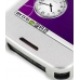 Samsung i5700 Galaxy Spica Aluminum Metal Case (Silver) top quality leather case by PDair
