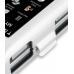Samsung Glyde U940 Aluminum Metal Case (Silver) genuine leather case by PDair