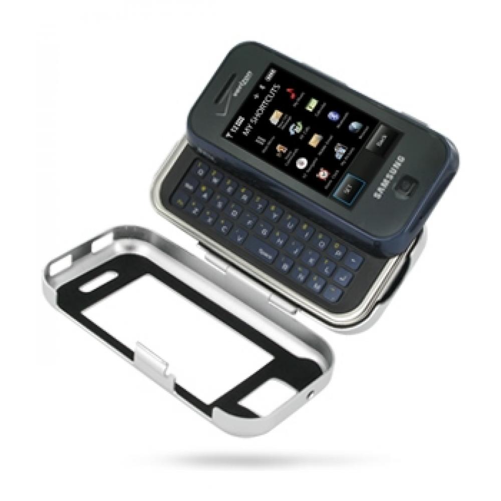 Samsung Glyde U940 Aluminum Metal Case (Silver) :: PDair ... Samsung Glyde Cases