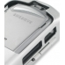 Samsung SCH-i730 Aluminum Metal Case (Silver) top quality leather case by PDair