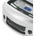 Samsung SCH-i730 Aluminum Metal Case (Silver) custom degsined carrying case by PDair