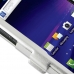 Samsung Galaxy S2 Skyrocket Aluminum Metal Case (Silver) genuine leather case by PDair