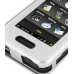 Samsung Instinct M800 Aluminum Metal Case (Silver) top quality leather case by PDair