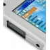 Samsung SGH-i780 Aluminum Metal Case (Silver) genuine leather case by PDair