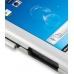 Samsung Captivate Galaxy S Aluminum Metal Case (Silver) top quality leather case by PDair