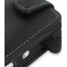 Acer beTouch E100 E101 Leather Flip Case (Black) genuine leather case by PDair