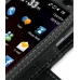 Acer F1 / Neo Touch S200 Leather Flip Cover (Black) handmade leather case by PDair