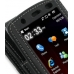 Acer F1 / Neo Touch S200 Leather Flip Case (Black) genuine leather case by PDair