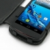 Acer Liquid E1 Leather Flip Cover genuine leather case by PDair
