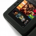 Amazon Kindle Fire HD Leather Flip Carry Cover genuine leather case by PDair