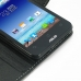 Asus PadFone mini 4.3 Leather Flip Carry Cover genuine leather case by PDair
