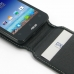 Asus PadFone mini 4.3 Leather Flip Top Carry Case genuine leather case by PDair