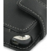 Asus MyPal A696 A686 Leather Flip Case (Black) handmade leather case by PDair