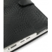 Asus Eee PC 700 701 Leather Flip Cover (Black Snake Pattern) top quality leather case by PDair