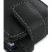 Garmin nuvifone M20 Leather Flip Case (Black) handmade leather case by PDair