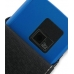 Garmin nuvifone M20 Leather Flip Case (Black) genuine leather case by PDair