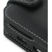 BlackBerry Tour 9630 Leather Flip Case (Black) handmade leather case by PDair