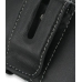 BlackBerry Tour 9630 Leather Holster Case (Black) protective carrying case by PDair