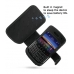 BlackBerry Bold 9650 Leather Flip Cover (Black) offers worldwide free shipping by PDair
