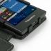 BlackBerry Leap Leather Flip Cover genuine leather case by PDair