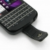 BlackBerry Q10 Leather Flip Case genuine leather case by PDair