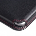 Samsung Galaxy E7 Leather Wallet Sleeve Case (Red Stitch) offers worldwide free shipping by PDair