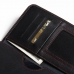 Samsung Galaxy Note 2 Leather Wallet Sleeve Case (Red Stitch) top quality leather case by PDair