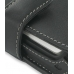 Sidekick ID Leather Flip Cover (Black) handmade leather case by PDair
