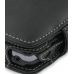 Sidekick LX Leather Flip Cover (Black) genuine leather case by PDair