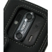 DoCoMo Aquos SH-12C Leather Flip Cover (Black) protective carrying case by PDair