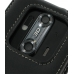 DoCoMo Aquos SH-12C Leather Flip Case (Black) protective carrying case by PDair