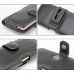 LG Optimus LTE L-01D Leather Holster Case (Black) protective carrying case by PDair
