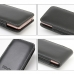 LG Optimus LTE L-01D Leather Sleeve Pouch Case (Black) protective carrying case by PDair