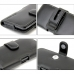 Docomo Samsung GALAXY S2 Leather Holster Case (Black) protective carrying case by PDair