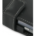 Eten Glofiish M810 Leather Flip Cover (Black) genuine leather case by PDair