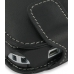 HP iPAQ 610 Series Leather Flip Case (Black) genuine leather case by PDair