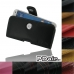 ZTE Blade S6 Leather Holster Case custom degsined carrying case by PDair