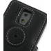HTC Fuze / P4600 Leather Flip Cover (Black) protective carrying case by PDair