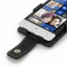 HTC 8S Leather Flip Case genuine leather case by PDair