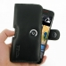 HTC Butterfly S Leather Holster Case top quality leather case by PDair