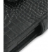 HTC Touch Diamond 100 Leather Flip Cover (Black Croc) top quality leather case by PDair