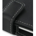 HTC Hero Leather Flip Cover (Black) handmade leather case by PDair