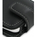 HTC Hero Leather Flip Case (Black) handmade leather case by PDair